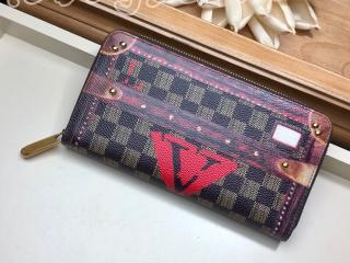 M63490 ルイヴィトン 長財布 コピー 「LOUIS VUITTON」 ジッピー・ウォレット その他キャンバス レディース ラウンドファスナー財布