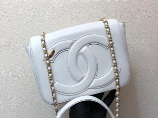 AS0321 B00120 10601 シャネル バッグ コピー CHANEL ラムスキン フラップ バッグ ロゴ CC ツイード レディース ショルダーバッグ ゴールド金具 5色可選択