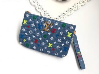 M67538 ルイヴィトン 財布 コピー 「LOUIS VUITTON」 ポシェットジップ レディース ラウンドファスナー財布 クラッチバッグ