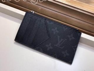 M30271 ルイヴィトン タイガ 財布 コピー 「LOUIS VUITTON」 コインカード・フォルダー モノグラム メンズ ラウンドファスナー財布 ノワール