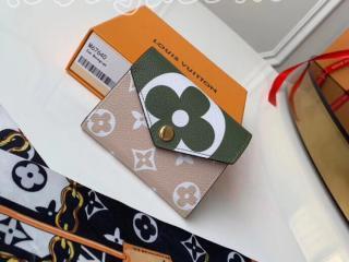 M67640 ルイヴィトン モノグラム 財布 スーパーコピー 「LOUIS VUITTON」 ポルトフォイユ・ゾエ レディース 三つ折り財布 3色可選択 カーキ
