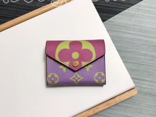 M67670 ルイヴィトン モノグラム 財布 コピー 「LOUIS VUITTON」 ポルトフォイユ・ゾエ レディース 三つ折り財布 3色可選択 ピンク