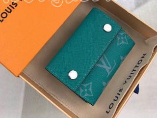 M67626 ルイヴィトン タイガ 財布 スーパーコピー 「LOUIS VUITTON」 ディスカバリー・コンパクト ウォレット モノグラム メンズ 三つ折り財布 4色可選択 ヴェール