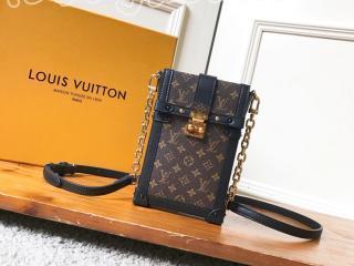 M63913 ルイヴィトン モノグラム 財布 スーパーコピー 「LOUIS VUITTON」 ポシェット・トランク ヴェルティカル レディース 財布