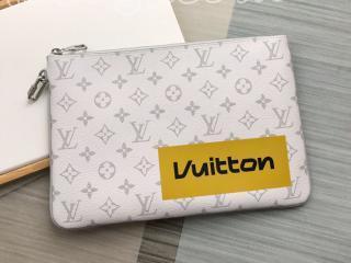 M68310 ルイヴィトン モノグラム バッグ コピー 「LOUIS VUITTON」 ジップド・ポーチ GM メンズ クラッチバッグ