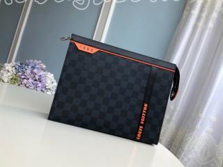 N60241 ルイヴィトン ダミエ・コバルト バッグ スーパーコピー 「LOUIS VUITTON」 ポシェット・ヴォワヤージュ メンズ クラッチバッグ