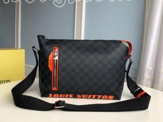 N40159 ルイヴィトン ダミエ・コバルト バッグ スーパーコピー 「LOUIS VUITTON」 ディスカバリー・メッセンジャー メンズ ショルダーバッグ