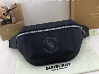 80225171 バーバリー バッグ コピー BURBERRY ロゴグラフィック ロンドンチェック ソニーバムバッグ ダークチャコール