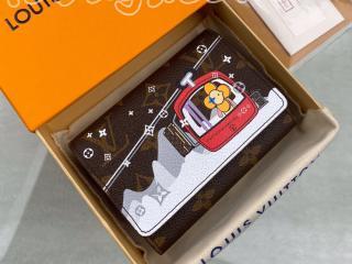 M68492 ルイヴィトン モノグラム 財布 コピー 「LOUIS VUITTON」  ポルトフォイユ・ヴィクトリーヌ レディース 三つ折り財布