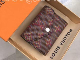 M68673 ルイヴィトン 財布 スーパーコピー 「LOUIS VUITTON」 ポルトフォイユ・ゾエ レディース 三つ折り財布 2色可選択 ローズ