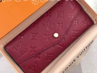 M60341 ルイヴィトン モノグラム・アンプラント 長財布 スーパーコピー 「LOUIS VUITTON」 Curieuse wallet レディース 二つ折り財布 2色可選択