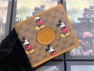 602549 HWUBM 8559 グッチ 財布 スーパーコピー DISNEY (ディズニー) x GUCCI コインウォレット メンズ 二つ折り財布