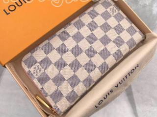 N63503 ルイヴィトン ダミエ・アズール 長財布 スーパーコピー 「LOUIS VUITTON」 Zippy ジッピー・ウォレット レディース ラウンドファスナー財布