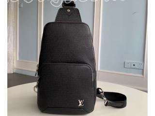 M30443 ルイヴィトン タイガ バッグ コピー 「LOUIS VUITTON」 アヴェニュー・スリングバッグ メンズ ショルダーバッグ
