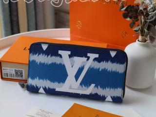 M68841 ルイヴィトン モノグラム 長財布 コピー 「LOUIS VUITTON」 最新品  ESCALE ZIPPY LVエスカル ジッピー・ウォレット レディース ラウンドファスナー財布