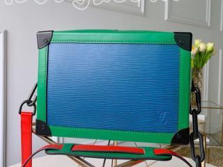M55568 ルイヴィトン バッグ コピー 「LOUIS VUITTON」 ソフトトランク その他レザー メンズ ショルダーバッグ