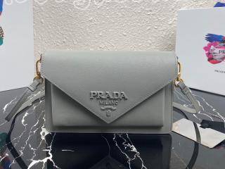 1BP020-2 ラダ バッグ スーパーコピー PRADA N級品 プSaffiano サフィアーノレザー ミニバッグ レディース ショルダーバッグ 8色可選択