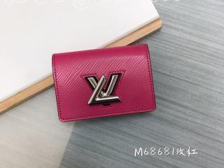 M69345 ルイヴィトン エピ 財布 スーパーコピー 「LOUIS VUITTON」 ツイスト・ミュルティクカルト レディース 二つ折り財布 6色可選択 シーサイド