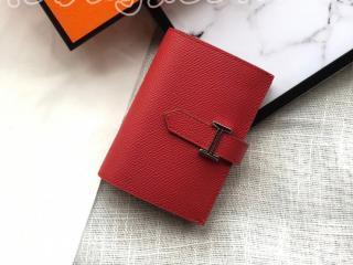 bearn02 エルメス ベアン 財布 コピー Hermes ヴォー・エプソン Epsom Bearn mini ミニ財布 二つ折り財布 18色可選択