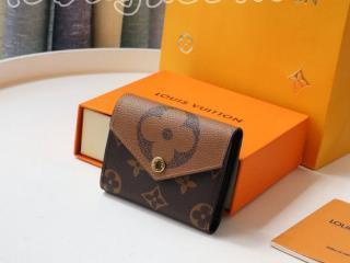M80725 ルイヴィトン モノグラム 財布 スーパーコピー 「LOUIS VUITTON」 21新作 ポルトフォイユ・ゾエ レディース 三つ折り財布